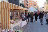 Mercado Artesanal de Navidad en Puerto Lumbreras con más de 40 puntos de venta de productos navideños y artesanales