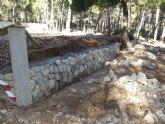 Medio Ambiente realiza mejoras en �reas recreativas del Parque Regional de Sierra Espuña