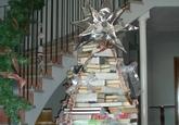 La Biblioteca municipal se prepara para la Navidad realizando una selección especializada de lecturas