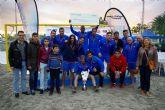 El Levante UD vence en el Memorial Juan Antonio Jiménez de fútbol playa