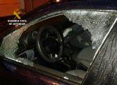 La Guardia Civil detiene a un joven por la comisión de una quincena de robos en interior de vehículos
