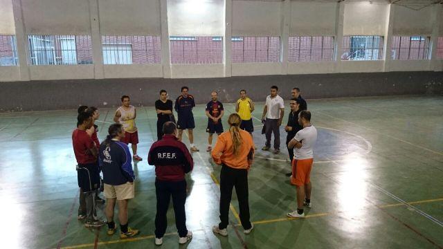 Se inicia la II Escuela del FC Barcelona en el Centro Penitenciario Murcia I