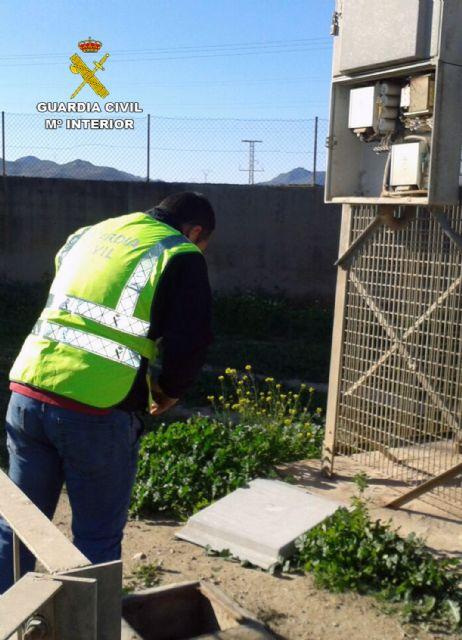 La Guardia Civil detiene a cinco personas por robo de cobre en Cartagena y Fuente Álamo - 2, Foto 2