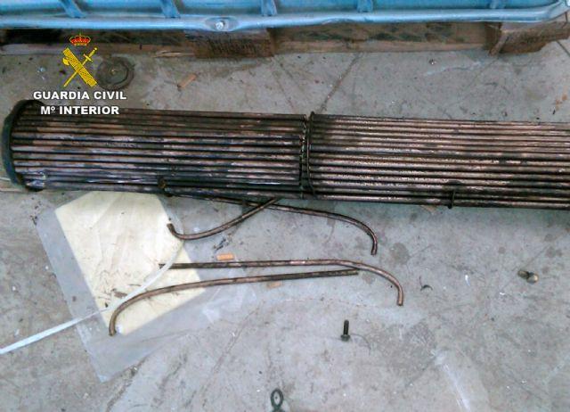 La Guardia Civil detiene a cinco personas por robo de cobre en Cartagena y Fuente Álamo - 3, Foto 3