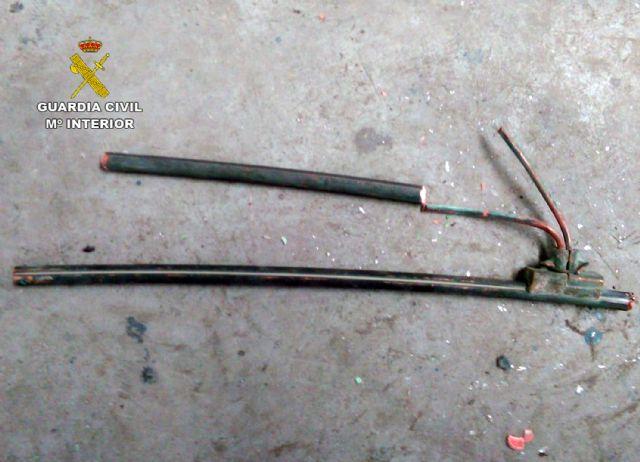 La Guardia Civil detiene a cinco personas por robo de cobre en Cartagena y Fuente Álamo - 4, Foto 4