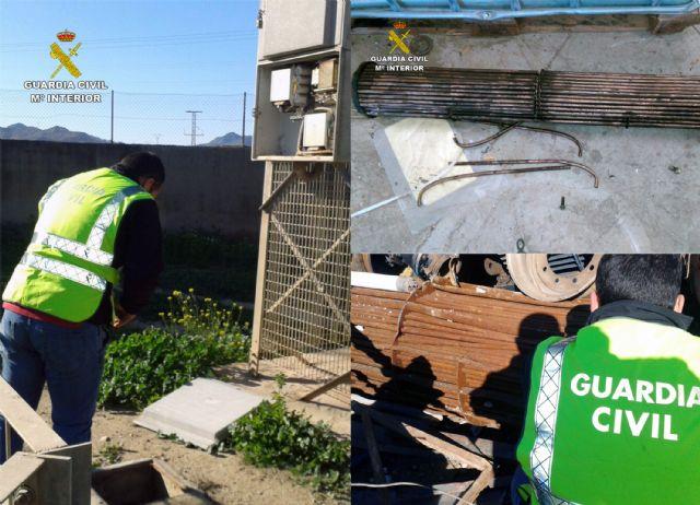 La Guardia Civil detiene a cinco personas por robo de cobre en Cartagena y Fuente Álamo - 5, Foto 5