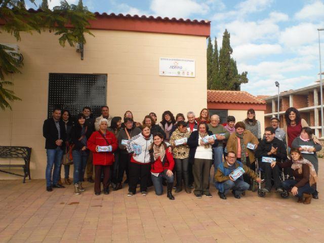 Visita del equipo de gobierno a la Asociación ADIVAR - 1, Foto 1