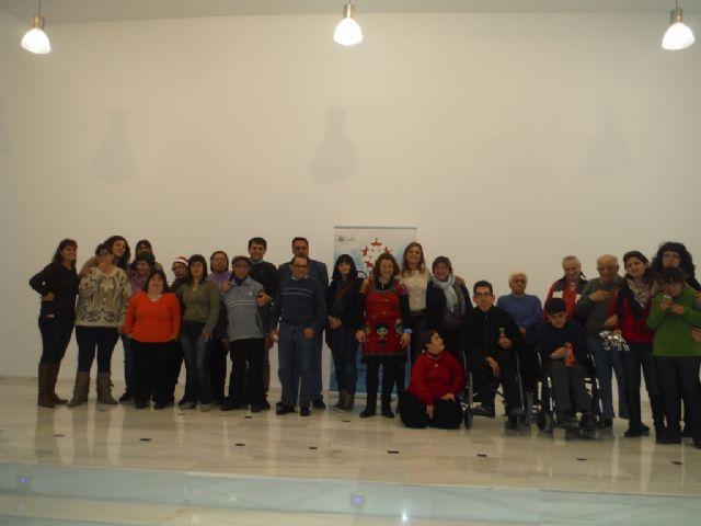 Visita del equipo de gobierno a la Asociación ADIVAR - 2, Foto 2