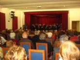Asociaciones de Mayores de Cartagena obsequian con regalos a sesenta ancianos