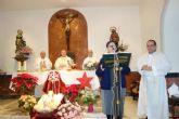 Mons. Lorca da gracias a Dios, junto a las Hermanas de Cristo Crucificado, por la Venerable Madre María Séiquer
