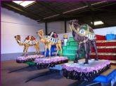 SSMM los Reyes Magos de Oriente recogerán las cartas de los niños y niñas de Totana el sábado y domingo, días 3 y 4 de enero, en la plaza de la Balsa Vieja