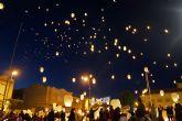 2.000 farolillos llenan el cielo torreño para que ningún niño del municipio se quede sin juguete esta Navidad