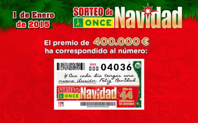 El Sorteo Extraordinario de Navidad de la ONCE reparte más 26 millones de euros por toda España - 1, Foto 1