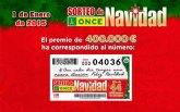 El Sorteo Extraordinario de Navidad de la ONCE reparte más 26 millones de euros por toda España