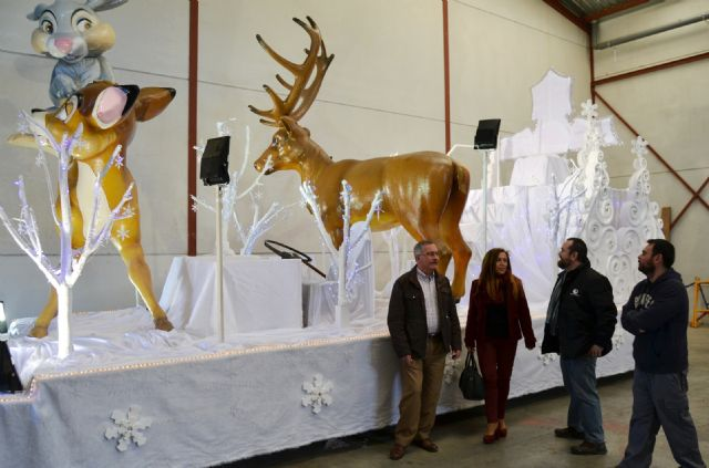 Carrozas y grupos de animación acompañarán a los Reyes Magos en la Cabalgata de Águilas - 2, Foto 2