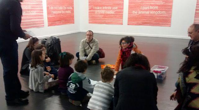 Dos nuevos talleres organizados por Cultura en La Conservera animan este fin de semana a descubrir el arte contemporáneo en familia - 1, Foto 1