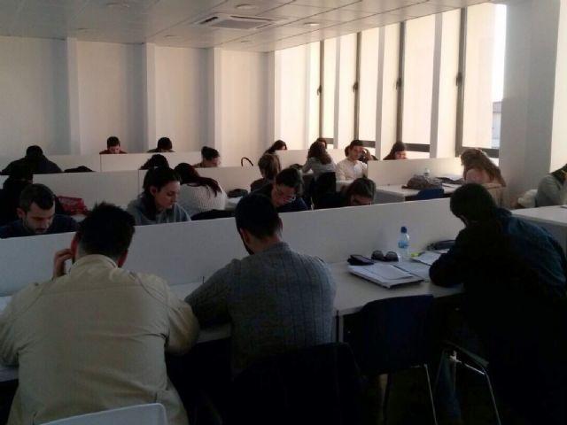 Los jóvenes cuentan con una sala de estudio abierta 24 horas en el Centro Integral de Seguridad - 1, Foto 1