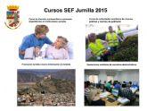 El próximo viernes finaliza el plazo de inscripción para los cuatro cursos de formación que el SEF realizará en Jumilla para personas desempleadas