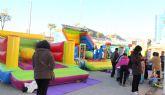 Puerto Lumbreras organiza talleres, juegos educativos y castillos hinchables para los más pequeños, a través de Navilandia