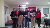Ciudadanos (C´s) Lorca colabora con Cruz Roja en la campaña navideña de recogida de juguetes