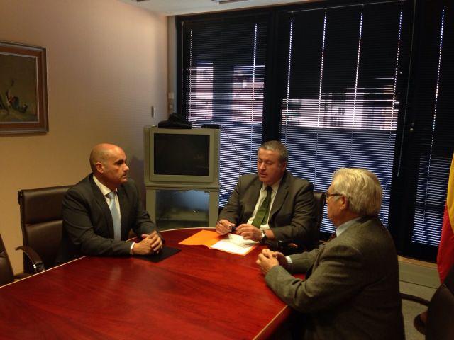 Bernabé anuncia que se construirá en breve la rotonda de acceso a La Unión desde el Llano del Beal - 1, Foto 1