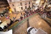 Un Roscón de Reyes Gigante rodeó la plaza del Ayuntamiento