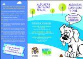 El Ayuntamiento de Alguazas emprende una campaña ciudadana sobre la recogida de excrementos de perros en la vía pública