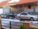 SPCT denuncia la quema de vehículos en Pozo Estrecho