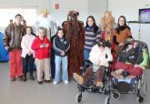 Los Reyes Magos visitan a los mayores del Centro de Día de Puerto Lumbreras