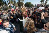 Los Reyes Magos desembarcan en Cartagena cargados de regalos y sorpresas