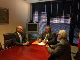 Bernabé anuncia que se construirá en breve la rotonda de acceso a La Unión desde el Llano del Beal