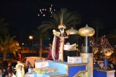 Los Reyes Magos desembarcan en Lo Pagán para repartir ilusión entre los pequeños pinatarenses