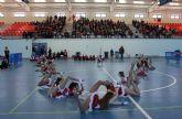 Puerto Lumbreras se apunta a gimnasia rítmica con una exhibición y la creación de una escuela en el Centro Deportivo