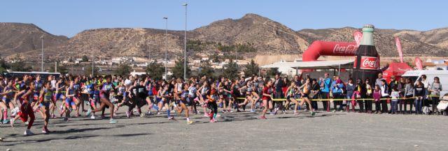 Más de 550 atletas se han dado cita en la XXIX Liga Regional de Cross disputada en Puerto Lumbreras - 2, Foto 2