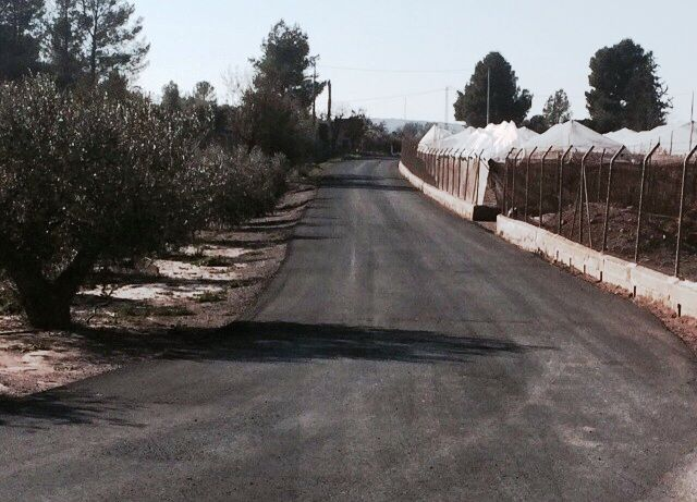 """Complete works of rural road """"Laces"""""""