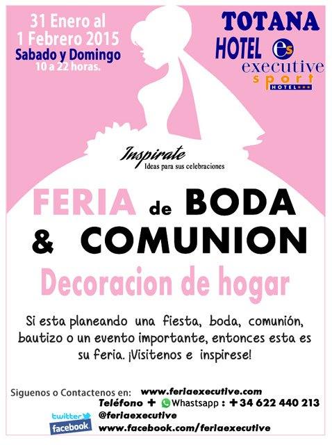 """Fair Wedding and Communion 2015 Hotel Executive"""
