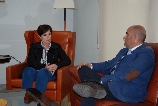 Reunión del alcalde de La Unión con la consejera de Sanidad y Política Social - 1, Foto 1
