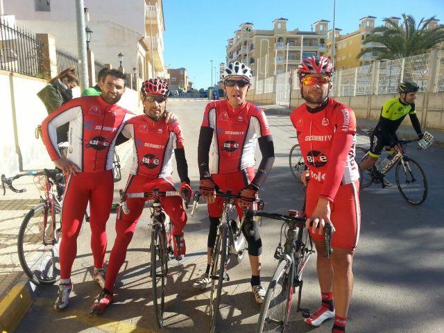 The CC Santa Eulalia starts the 2015 season with 2 races, road and mtb in Algorfa in Jumilla