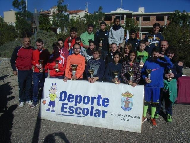 110 escolares participaron en la fase local de orientaci�n de Deporte Escolar, Foto 1