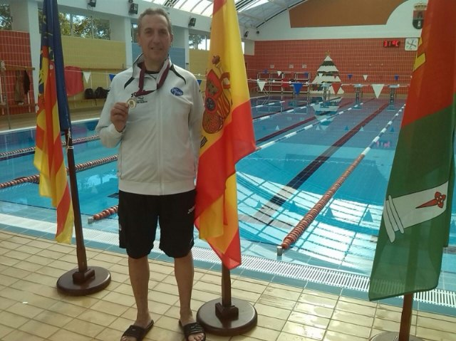 José Miguel Cano participated in the First Regional Master Swimming Championships Long Distance