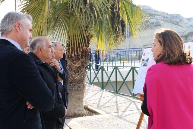 El presidente Garre inaugura dos nuevos colectores que completan el saneamiento integral de Albudeite y Campos del Río - 2, Foto 2