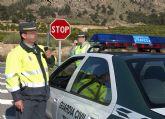 La Guardia Civil imputa a dos menores por arrojar piedras a vehículos que circulaban por la Autovía A-30