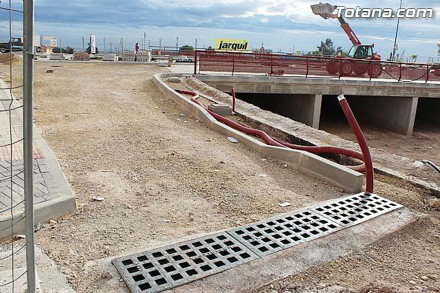 """PSOE: """"The Mayor in his four years in office is not able to finish the construction of the roundabout at the Kabuki"""""""