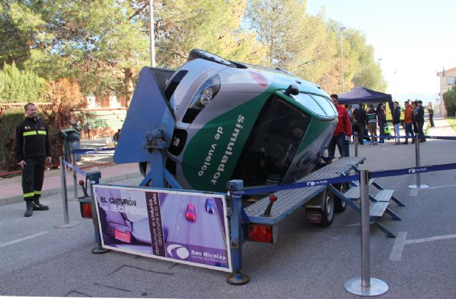 EL I.E.S. Rambla de Nogalte acoge una jornada de seguridad vial organizada por la Policía Local de Puerto Lumbreras - 2, Foto 2