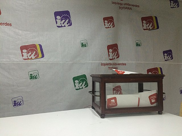 Izquierda Unida Totana chooses its chief candidate in open primaries to be held on February 15
