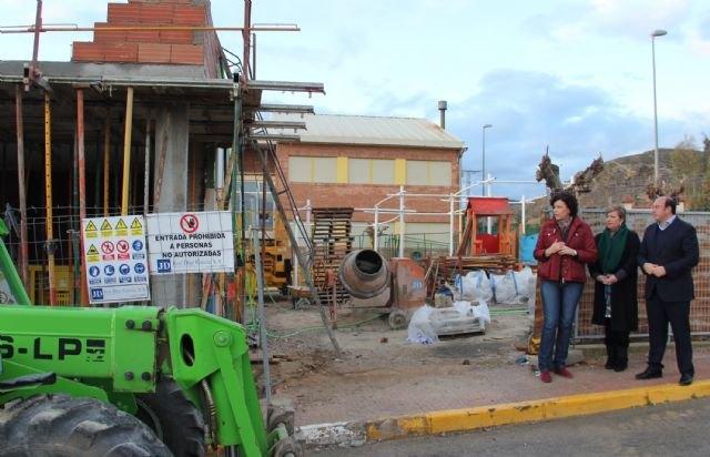 Comienza la ampliación y mejora del colegio público Asunción Jordán de Puerto Lumbreras - 1, Foto 1