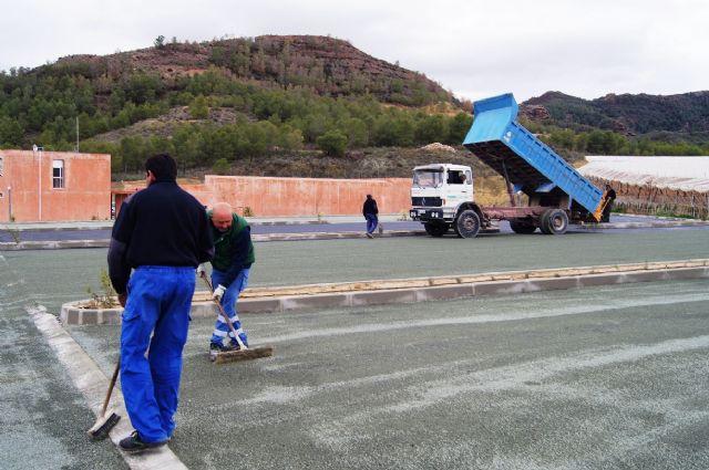 Entran en su última fase las obras de adecuación del aparcamiento, jardines y perímetro del poblado del yacimiento argárico de La Bastida - 1, Foto 1
