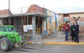 En marcha las obras de ampliación del módulo de educación infantil del Colegio Asunción Jordán de Puerto Lumbreras