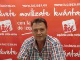 Saorín: 'En diciembre se destruyeron 275 empleos en Cieza, según los datos de afiliación de la Seguridad Social'