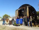 Propietarios de terrenos y voluntarios recuperan el bosque de ribera del Segura en Cieza